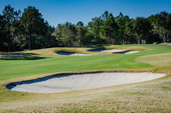 Sand Traps - St. Augustine, Florida royalty free stock photography