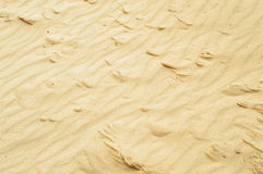 Sand with tubercles on daylight, background Stock Photo