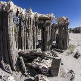 Sand Tufas at Mono Lake Stock Images