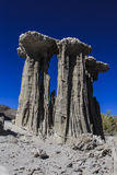 Sand Tufas at Mono Lake Stock Photo