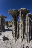 Sand Tufas at Mono Lake Royalty Free Stock Image