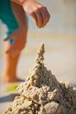 Sand-Turm Lizenzfreie Stockfotografie