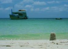 Sand-Turm Stockfoto