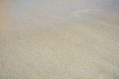 Sand and Tyrrhenian Sea, Elba Island, Italy, background Stock Image