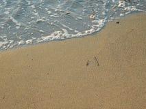 Sand und Erde draußen Lizenzfreies Stockfoto