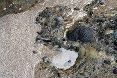Sand und Felsen lizenzfreie stockbilder