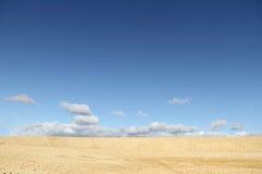 Sand und Himmel. Lizenzfreies Stockfoto