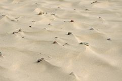 Sand und Kiesel Lizenzfreie Stockfotos