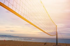 Sand und Palmen Stockfotografie