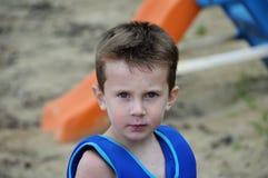 Sand und Swim Lizenzfreie Stockbilder
