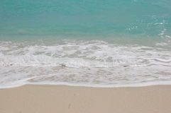 Sand und Wasser Stockfotos