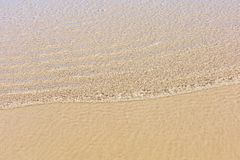 Sand under the sea Stock Photo