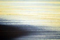 Sand, vatten och ljus royaltyfria bilder