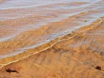 sand vattenwaves Royaltyfri Foto