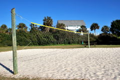 Sand Volleyball stock image