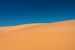 Sand-Wüste Stockfoto