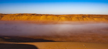 Sand. Wahiba Sand Desert, Oman, Arabic Peninsula Royalty Free Stock Photography