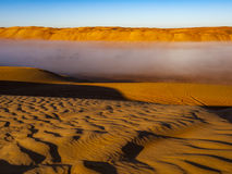 Sand. Wahiba Sand Desert, Oman, Arabic Peninsula Stock Photography