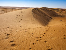 Sand. Wahiba Sand Desert, Oman, Arabic Peninsula Royalty Free Stock Image