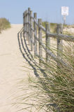 Sand walkway Royalty Free Stock Photos