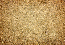 Sand wall with red bricks for texture background Stock Photos