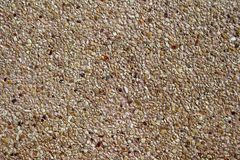 Sand wash floor Royalty Free Stock Images