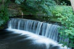 Sand-Wasserfall Lizenzfreies Stockfoto