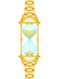 Sand watch Stock Images