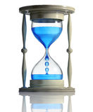 Sand watch with water inside. Royalty Free Stock Image