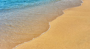 Sand and water Royalty Free Stock Images