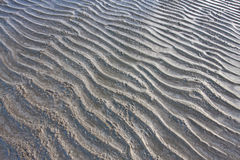 Sand wave. On Thai beach image Stock Photography
