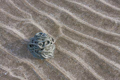 Sand wave. On Thai beach image Royalty Free Stock Photography