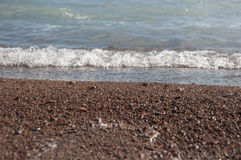 sand and wave Stock Image