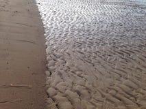 Sand wave texture Royalty Free Stock Photos