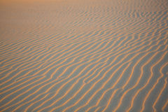 Sand wave texture in desert of Colombia Stock Photo