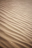 Sand Waves. A close up shot of sand ripples on a dune Stock Photo