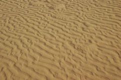 Sand Waves Royalty Free Stock Image