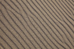 Sand Waves Background. A photograph depicted sand waves, created by ocean breeze Royalty Free Stock Photos