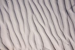 Sand waves background Royalty Free Stock Photography