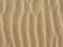 Sand waves background, close-up Royalty Free Stock Photography