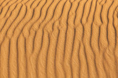 Sand waves in the beach Stock Photo