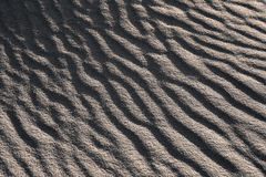 Sand Waves Black and White Stock Images