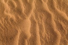 Sand waves pattern Royalty Free Stock Photos