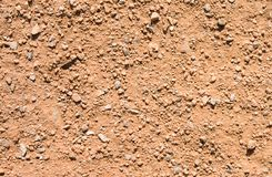 Sand With Pebbles Texture Royalty Free Stock Photography