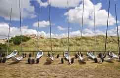 Sand-Yachten Lizenzfreies Stockfoto