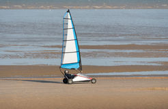 Sand Yachting Stock Photography