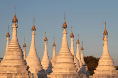 Sanda Muni pagoda in Mandalay Royalty Free Stock Photography