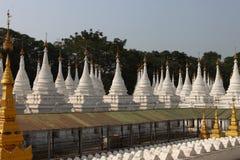 Sanda Muni pagodowy Mandalay, Myanmar Zdjęcia Stock