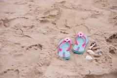 Sandała piasek Zdjęcie Royalty Free