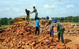 Sandahiru Seya Dagoba Stock Foto